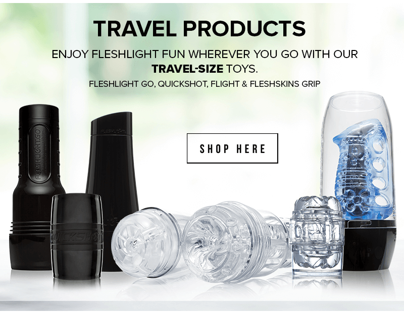 Fleshlight Travel Products