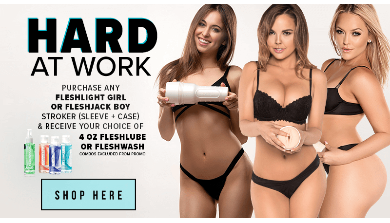 Hard at work Fleshlight sale
