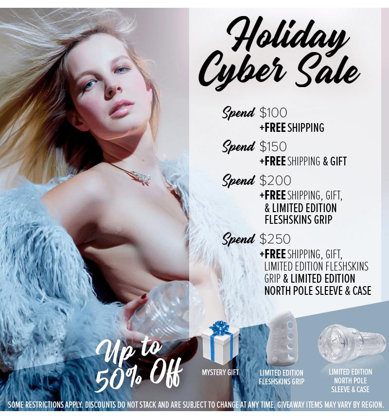 Fleshlight Holiday Cyber Sale