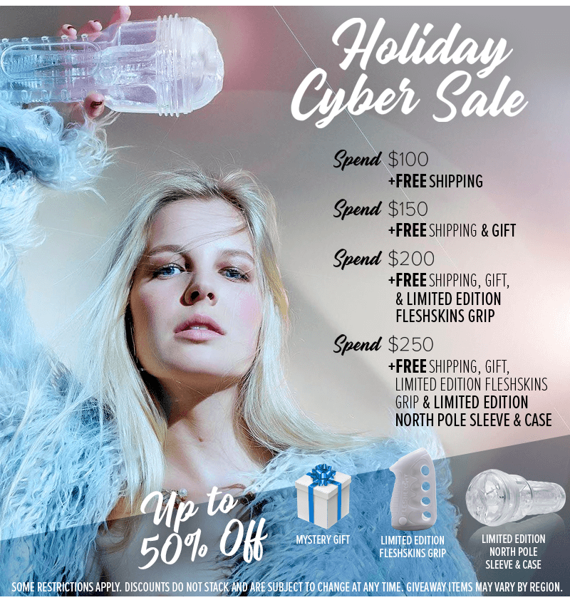 Fleshlight Holiday Cyber Sale