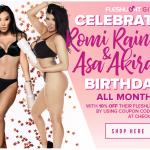 Fleshlight Girls - Romi Rain and Asa Akira Birthday Sale