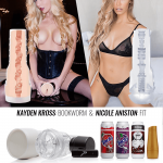 Fleshlight Limited Edition Toys - Kayden Kross Bookworm - Nicole Aniston Fit