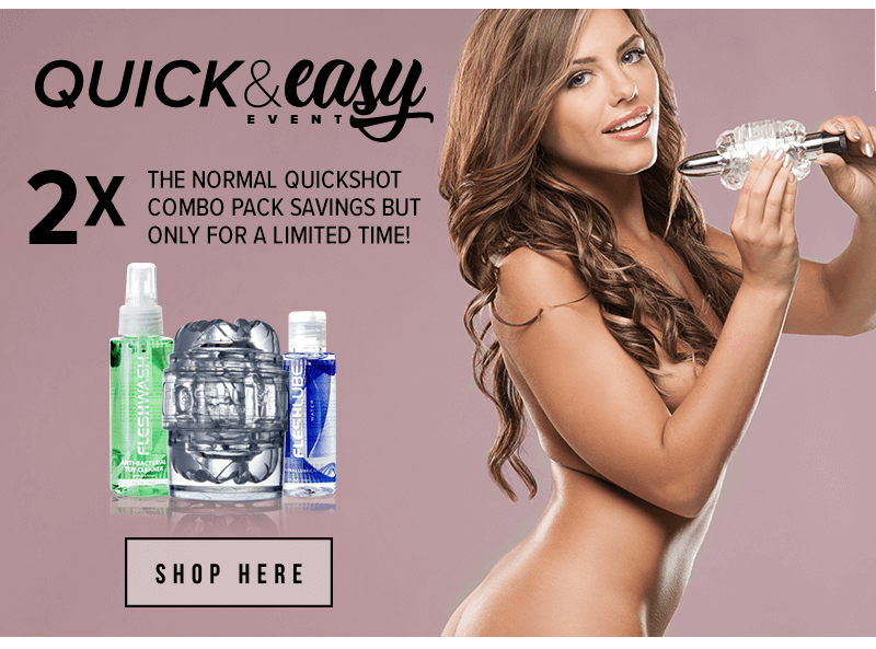 Fleshlight Quickshot Double Savings