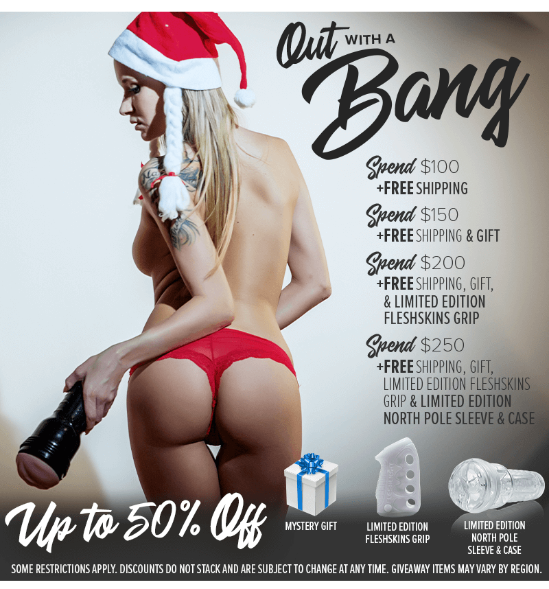 Fleshlight Year End Sale - EXTENDED! - 20 Percent Off Fleshlight Girls Sleeves! and more