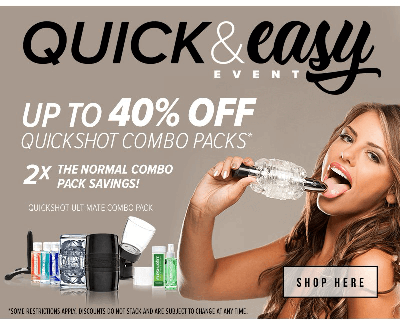 Quickshot Ultimate Combo Pack 40 Percent Off