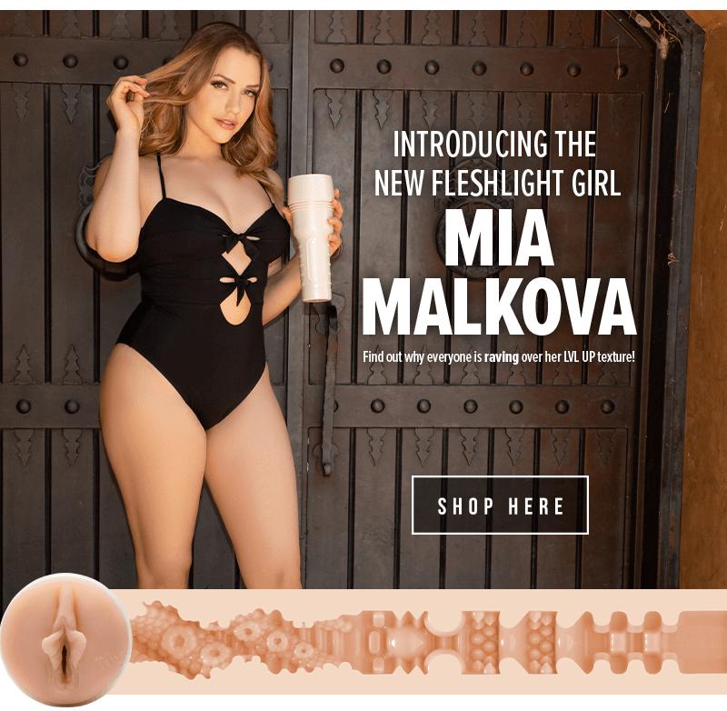 Fleshlight Girls introduces Mia Malkova lvl up
