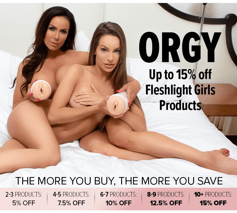 15 percent off Fleshlight Girls Orgy