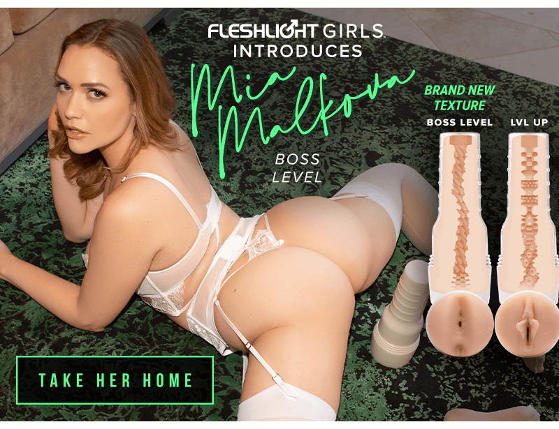 Fleshlight Girls Introduces Mia Malkova New Texture - Boss Level