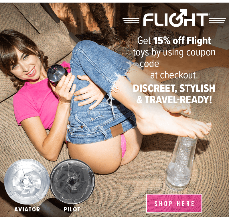 Fleshlight Flight - Save 15 Percent