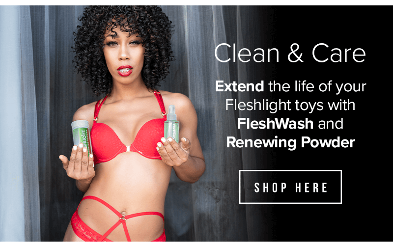 Fleshlight Product Care
