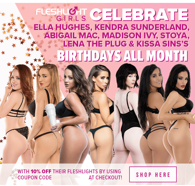 Celebrate Fleshlight Girls June Birthdays