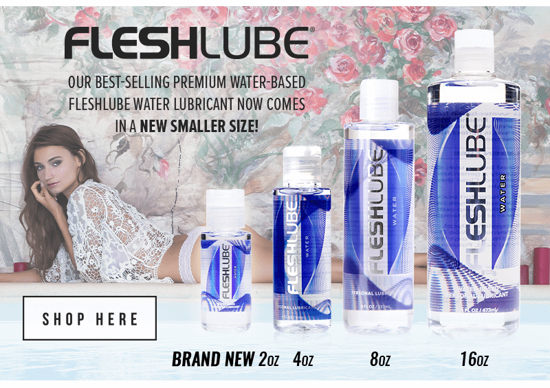 FleshLube Water - Now comes in a smaller size! 2 ounce!