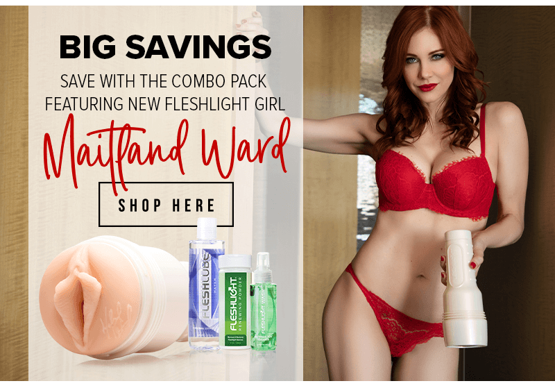 Fleshlight Girls Introduces Maitland Ward