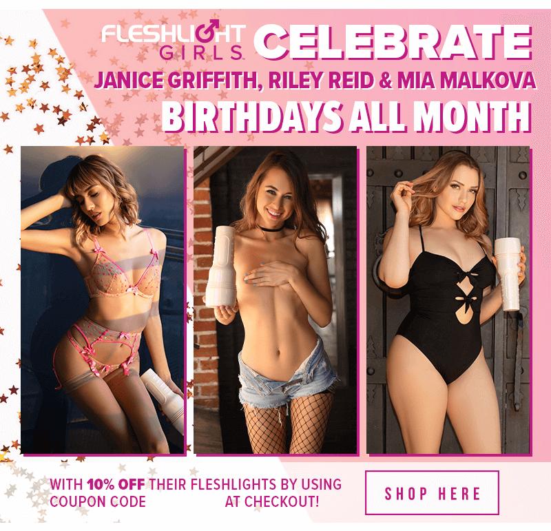 Celebrate Fleshlight Girls July Birthdays