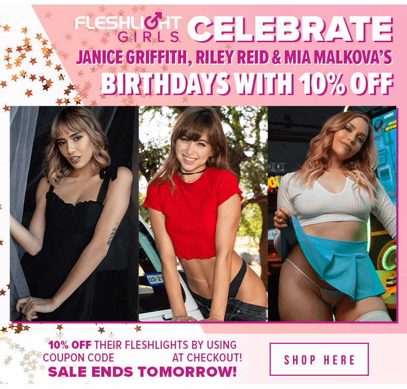 Celebrate Fleshlight Girls July Birthdays