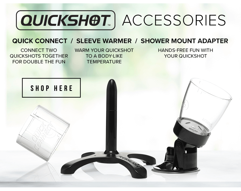 Fleshlight Quickshot Accessories
