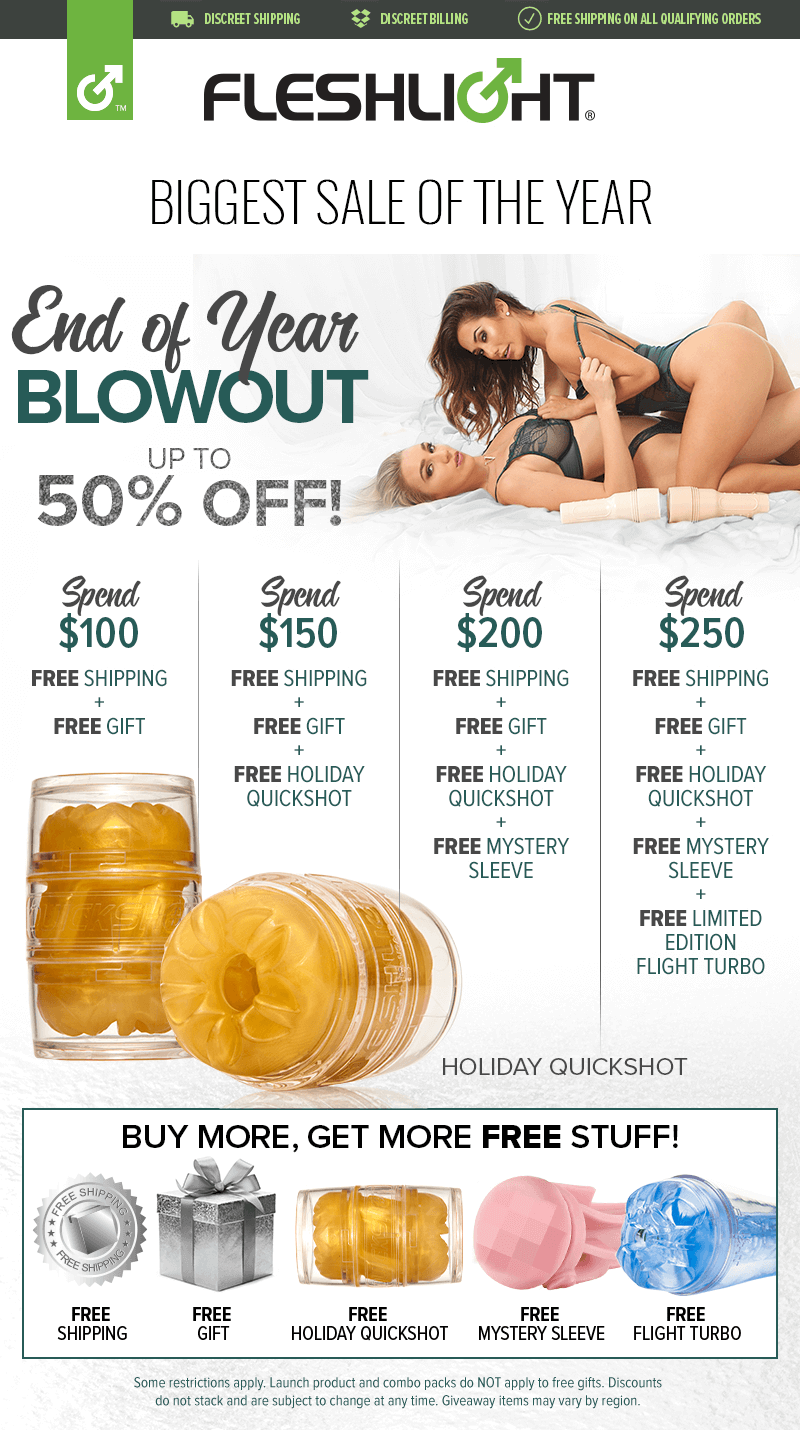 Fleshlight Biggest Sale of the Year