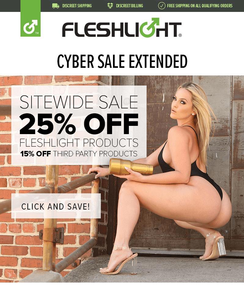 Fleshlight Cyber Sale Extended
