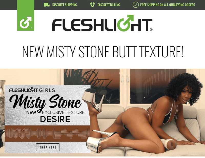 Fleshlight Girl Misty Stone Signature Butt texture, Desire