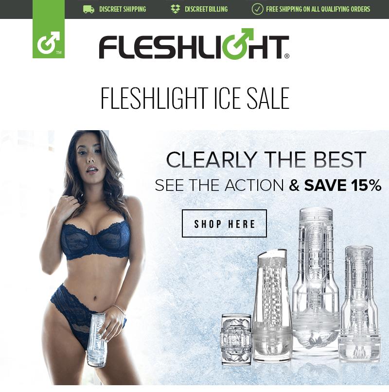 Fleshlight Ice Savings