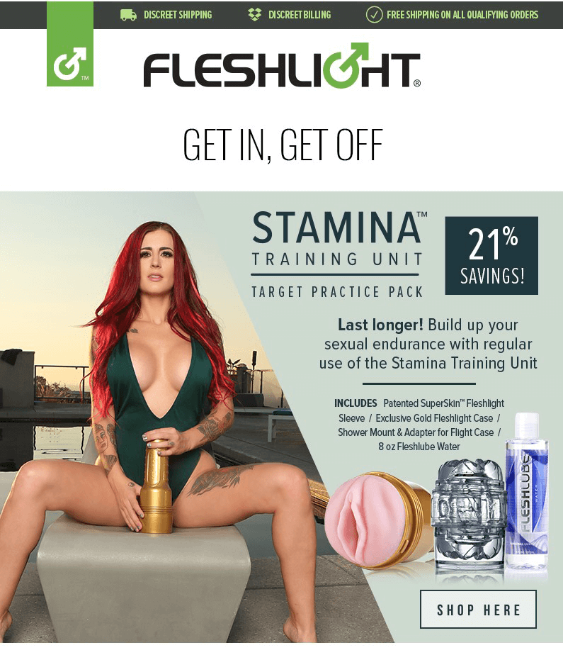 Fleshlight Stamina Training Unit - Target Practice Pack