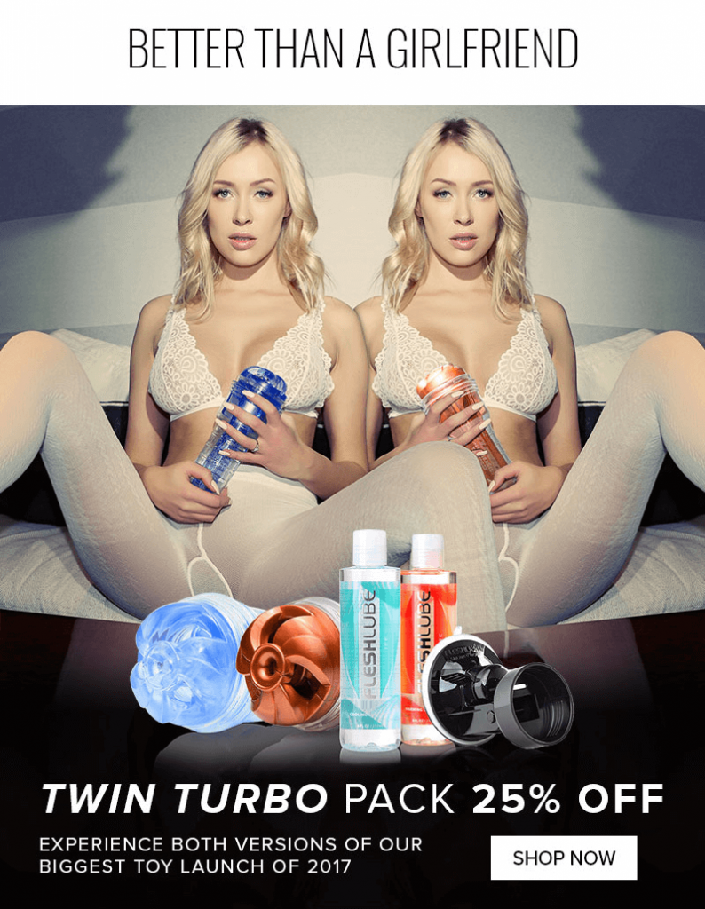 Fleshlight Twin Turbo Pack