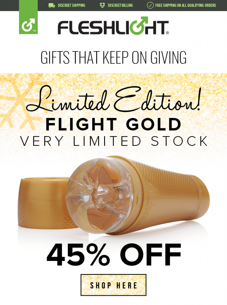 Flight Gold Limited Edition