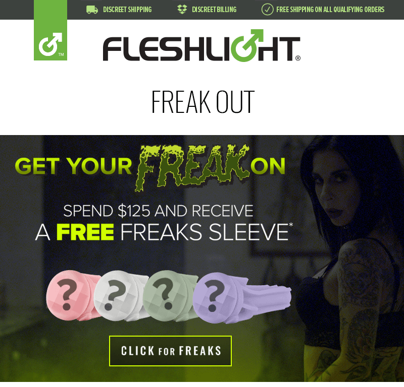 Free Fleshlight Freaks Sleeve