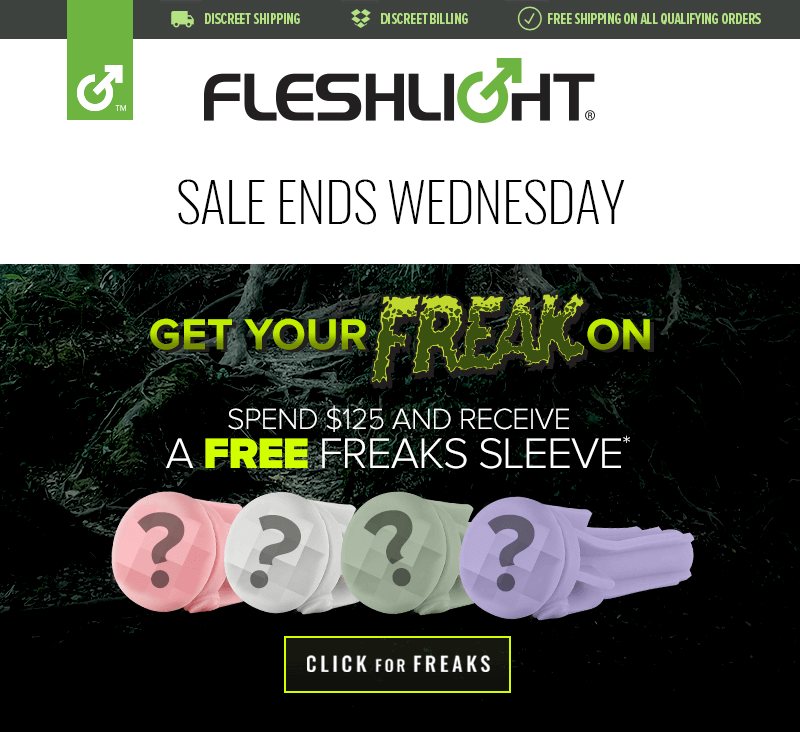 Free Fleshlight Freaks Sleeve