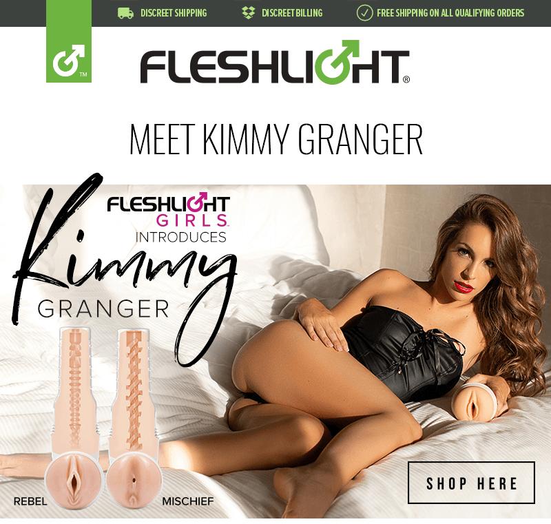 Introducing new Fleshlight Girl Kimmy Granger Rebel and Mischief textures