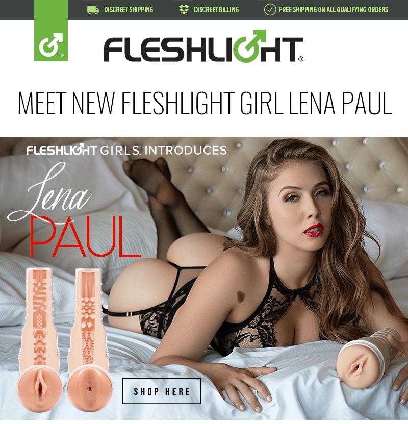 Introducing New Fleshlight Girl Lena Paul Nymph and Ritual textures
