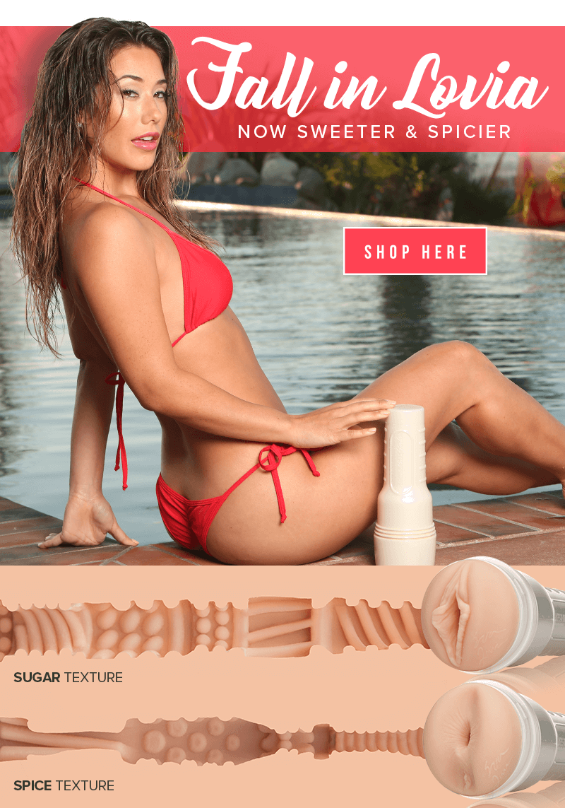 New and Improved Fleshlight Girl Eva Lovia Sugar and Spice textures