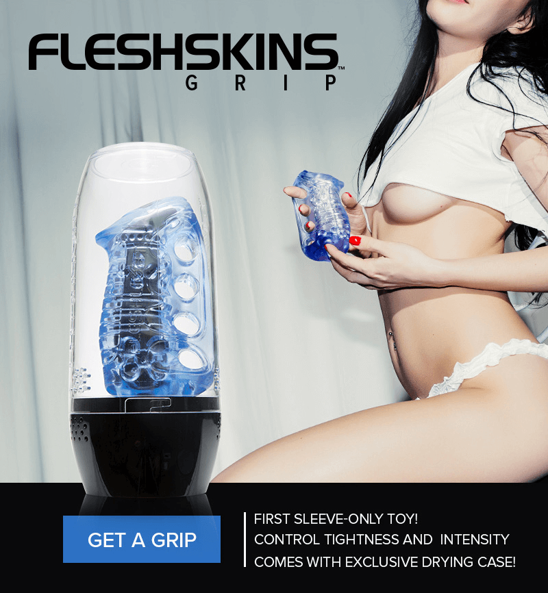 Fleshlight FleshSkins Grip - Control the tightness and intensity