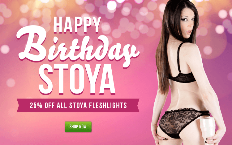 Celebrate Fleshlight Girl Stoya Birthday