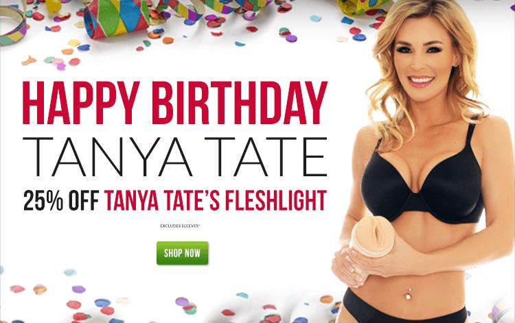 Celebrate Fleshlight Girl Tanya Tate Birthday