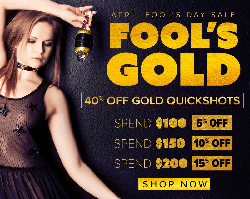 Fleshlight April Fool's Day Sale