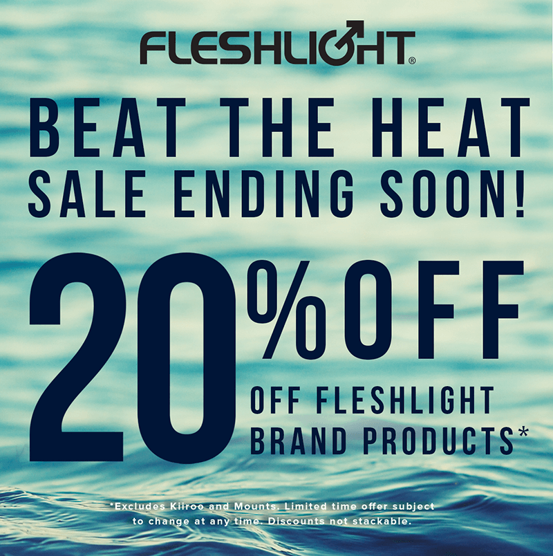 Fleshlight Beat the Heat Sale