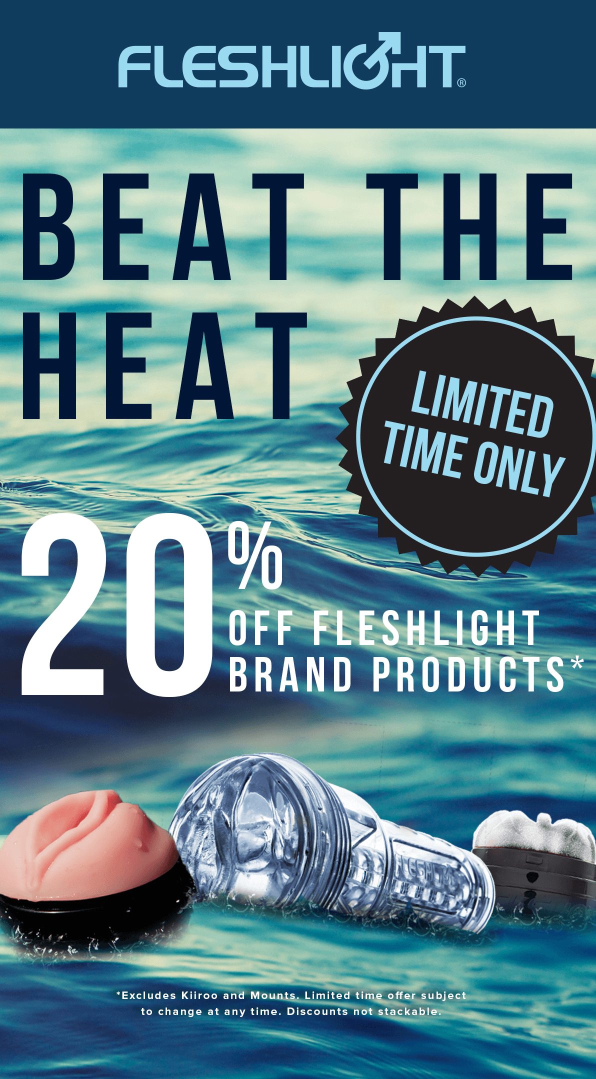 Fleshlight Beat the Heat Sale