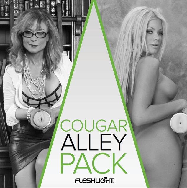 Fleshlight Cougar Alley Combo Pack