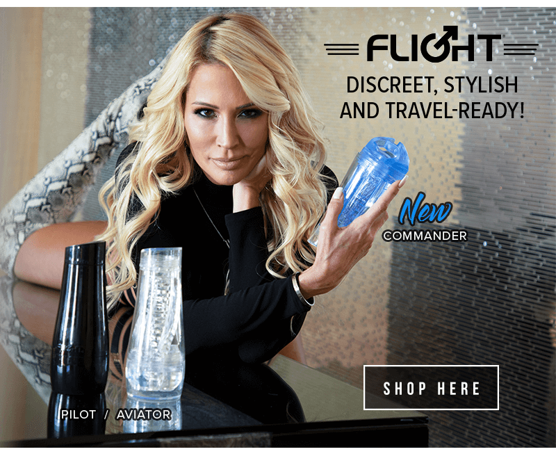 Fleshlight Flight - Discreet, Stylish, and Travel Ready