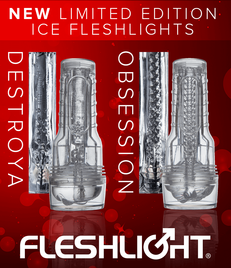 Fleshlight Girls Limited Edition Ice. Stoya Destroya and Jenna Haze Obsession.