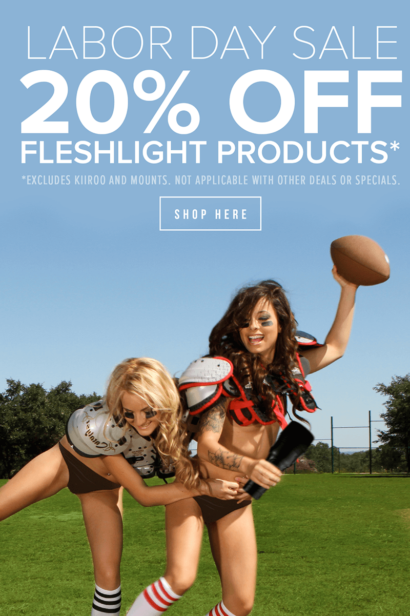 Fleshlight Labor Day Sale