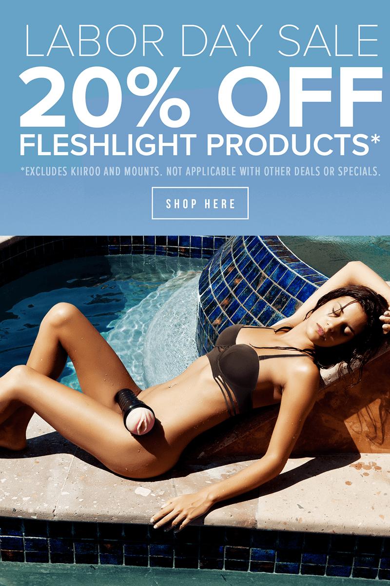 Fleshlight Labor Day Sale