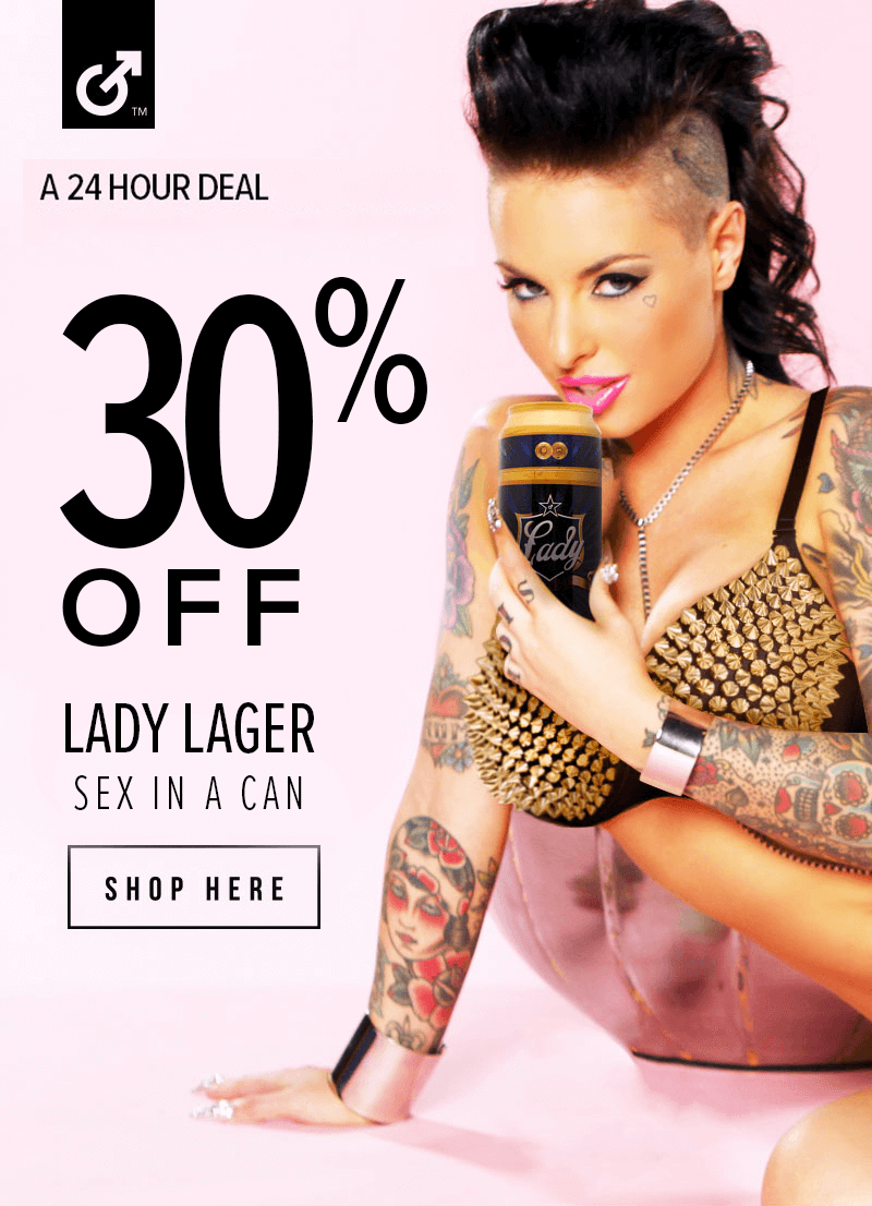 Fleshlight Lady Lager Sex in a Can