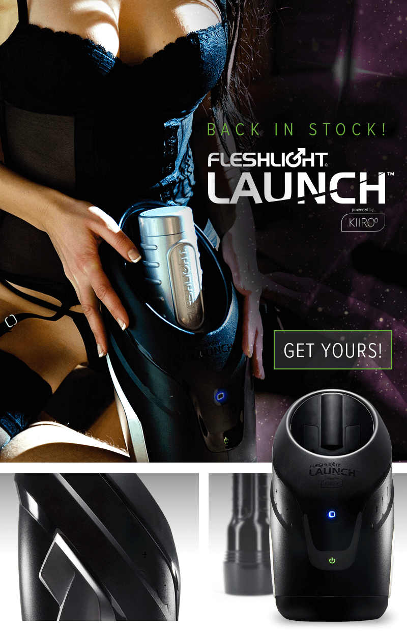 Fleshlight Launch powered by KIIROO - Fully Automated Experience
