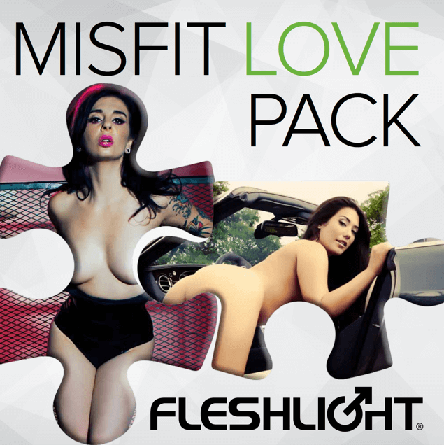 Fleshlight Misfit Love Pack