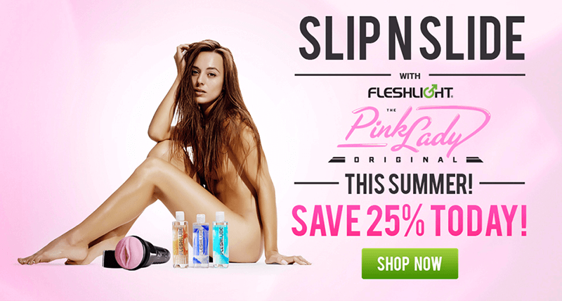 Fleshlight Slip N Slide Combo Pack