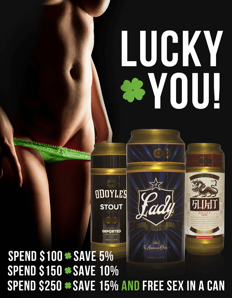 Fleshlight St. Patricks Day Sale