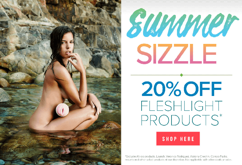 Fleshlight Summer Sizzle Sale