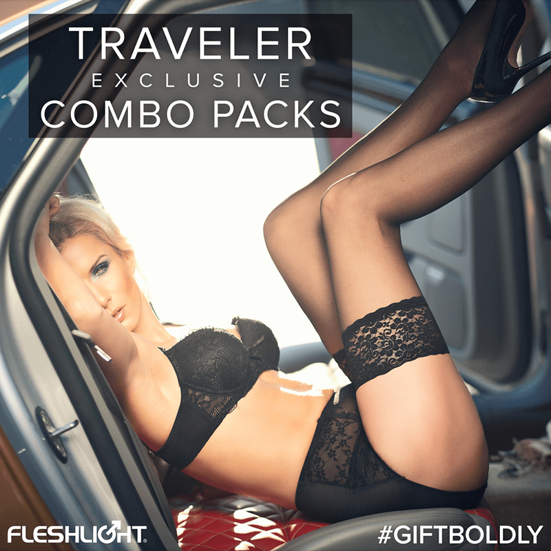 Fleshlight Traveler Combo Packs